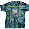 2008 Blue and Green Tie Dye T-Shirt