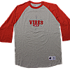2009 Team Vibes Red Baseball Jersey