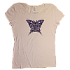 2010 Women's Butterfly Pink T-Shirt