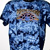 2010 Wood Turtle Dark Blue Tie Dye T-Shirt