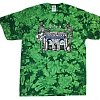 2010 Arches Green Tie Dye T-Shirt
