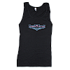 2012 Women's Retro Wings Black Tank Top