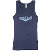 2012 Women's Retro Wings Navy Tank Top
