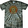 Men's Circle Eye Tie Dye Brown T-Shirt