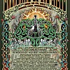 2013 Dubois Flame Sun Poster