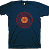 2013 Men's Circle Turtle w/Line Up Navy T-Shirt