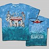 2013 Men's Arches w/ Line Up Blue and Green Tie-Dye T-Shirt
