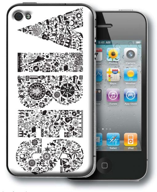 Icon Shirt Gel-Skin iPhone 4[1]