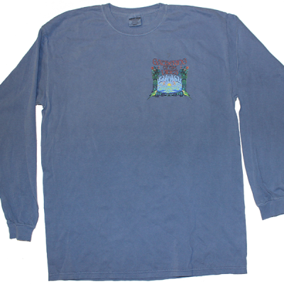 2008 Small Logo Blue Long Sleeve