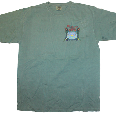 2008 Small Logo w/ Line Up Green T-Shirt