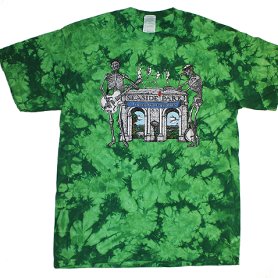 2010 Arches Green Tie Dye T-Shirt