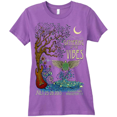 2013 Women's Phoenix Purple T-Shirt