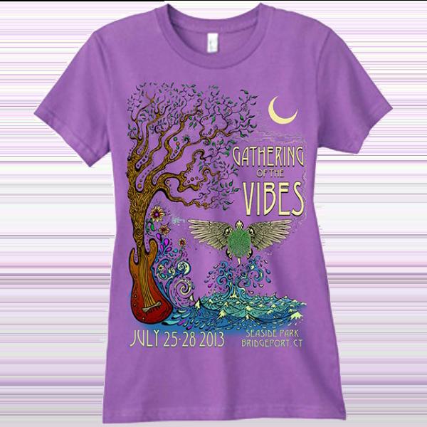 2013 Women's Phoenix Purple T-Shirt