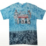 2014 Arches Tie-Dye T-Shirt Front