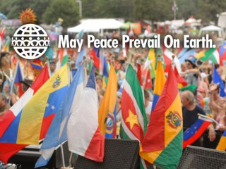World Peace Flag Ceremony