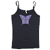 2010 Women's Butterfly Black Tank