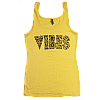 Women's Vibes Icon Yellow Tank Top