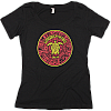 Mayan Turtle Womens Scoop Neck T-Shirt