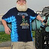 2012 Rose Blue Tie Dye T-Shirt