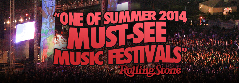 Rolling Stone Magazines Summer 2014's 40 Must-See Music Festivals