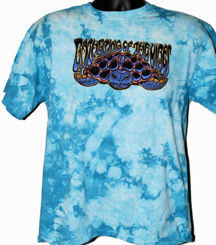 317964aae 2010 Wood Turtle Light Blue Tie Dye T-Shirt