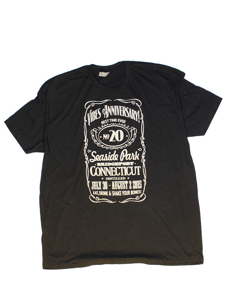 aacb63011 2015 Men's Black JD Tee | Gathering of the Vibes Music Festival