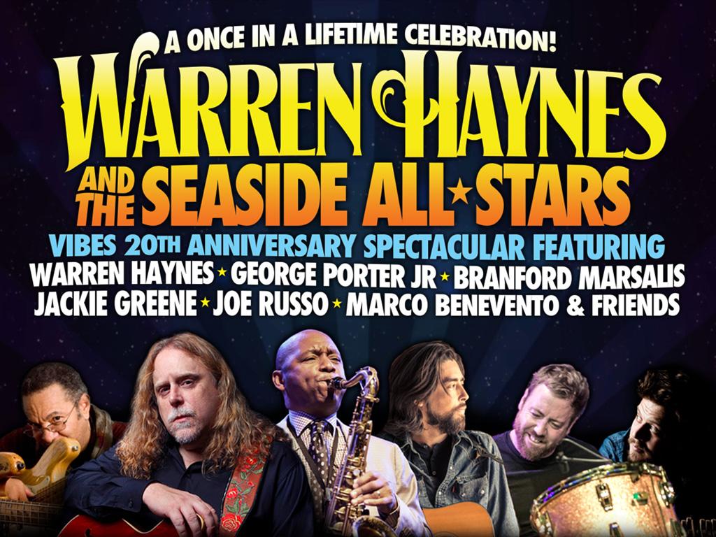 Warren Haynes & the Seaside Allstars